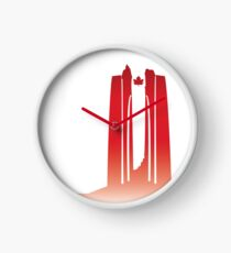 Vimy Centenary Flag Transition Clock