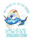 Half unicorn cat mermaid - unicatmaid by jitterfly