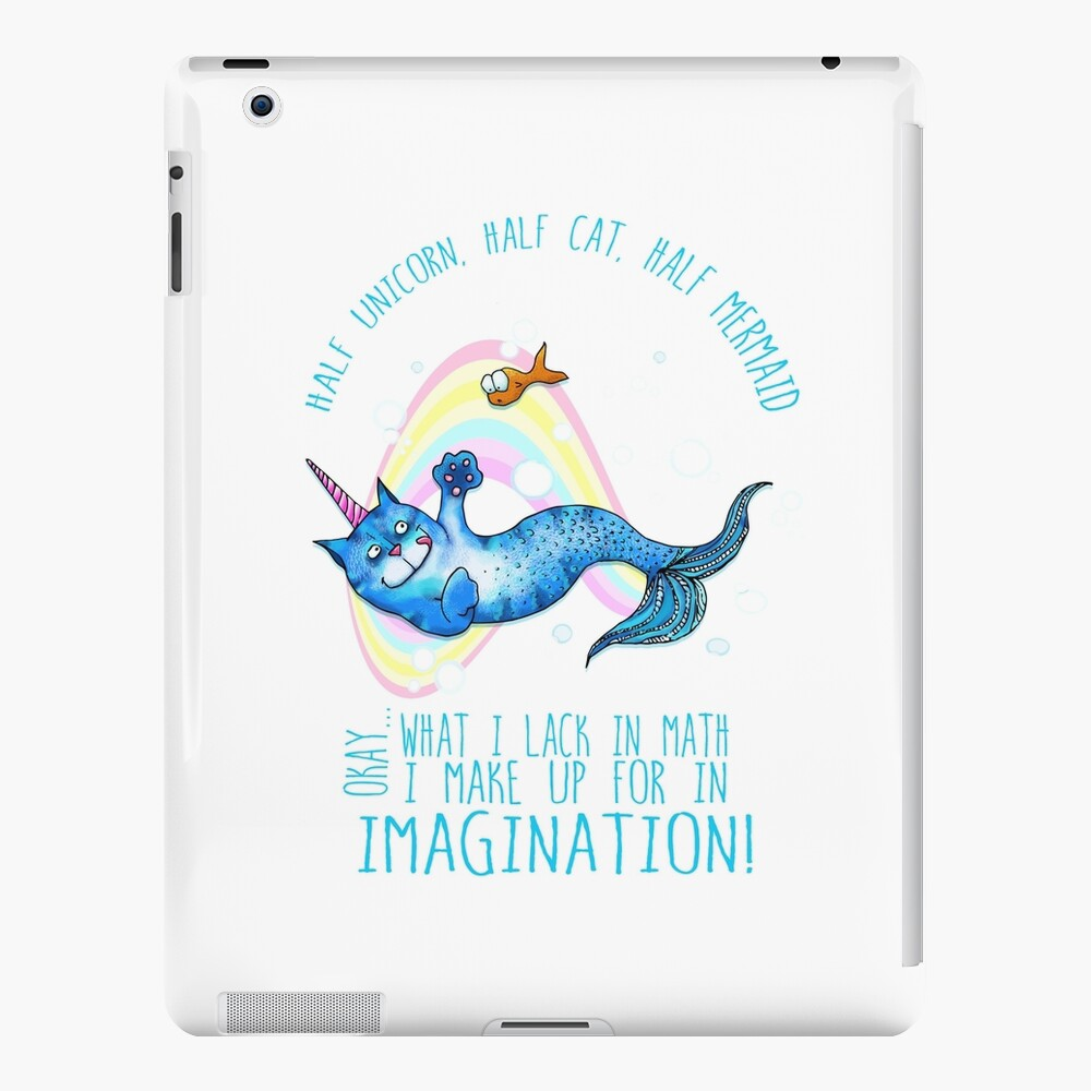 Half unicorn cat mermaid - unicatmaid | iPad Case & Skin