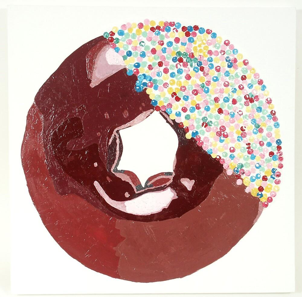 Chocolate Doughnut by Adrian Jones
