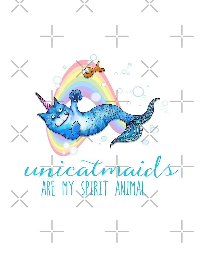 Unicatmaids are my spirit animal by jitterfly