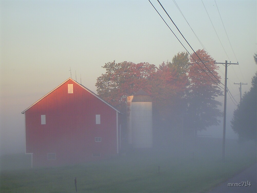 dawn and barn by mrmc714