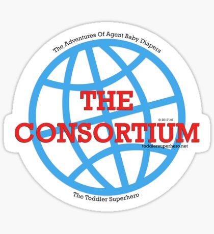 The Consortium Logo Sticker