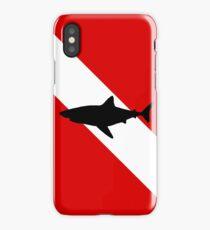Diving Flag Shark iPhone Case/Skin