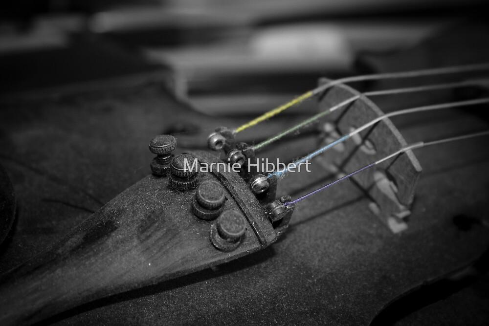 The Violin Three by Marnie Hibbert