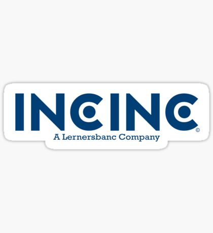 IncInc Logo Sticker