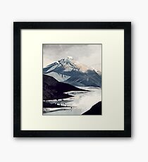 Calming Mountain Framed Print