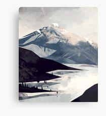 Calming Mountain Metal Print