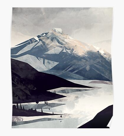 Calming Mountain Poster