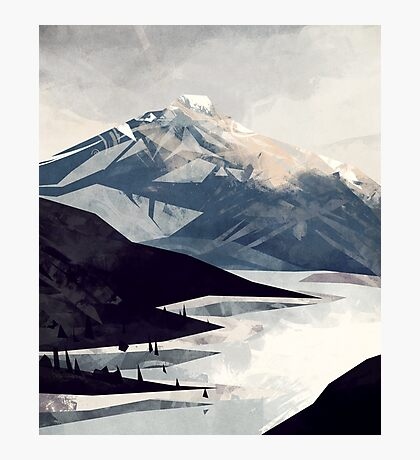 Calming Mountain Photographic Print