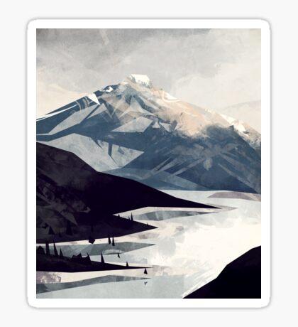 Calming Mountain Sticker