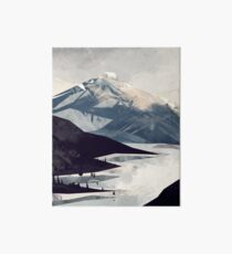 Calming Mountain Art Board