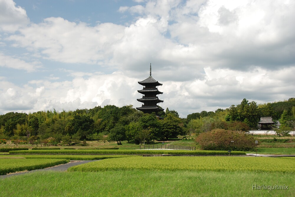 Soja Pagoda by Harlequitmix