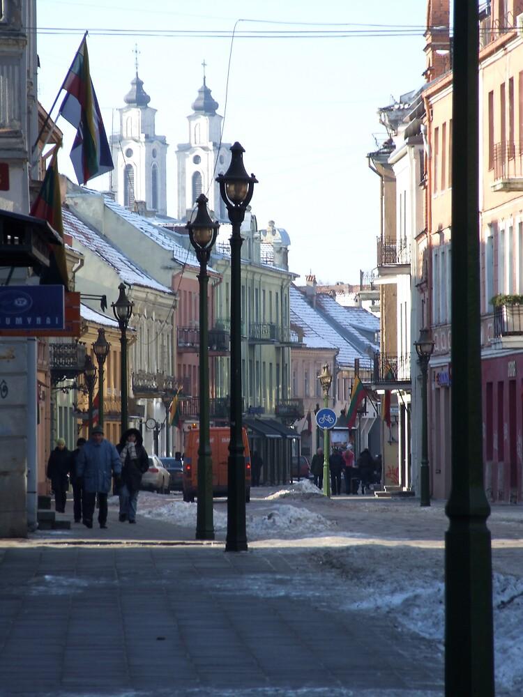 street lamps by talik