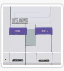 Snes Console Sticker