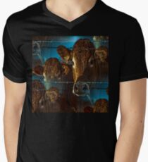 Lost in space brown cows T-Shirt