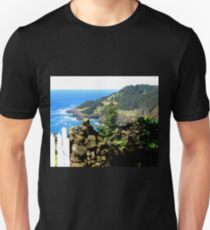 Over Look In Cape Fowlweather, Oregon T-Shirt