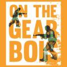 On The Gear - Dan M - Grunge Effect by EdwardDunning