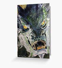 Dragon art Greeting Card