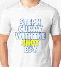 Steph Curry With The Shot Boy  Unisex T-Shirt