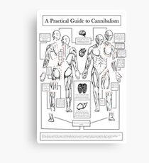 A Practical Guide to Cannibalism Canvas Print