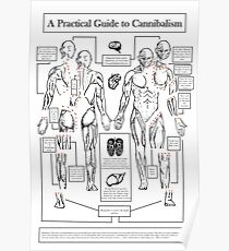 A Practical Guide to Cannibalism Poster