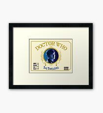 The Time Lord CHRONIC Framed Print