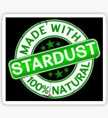 Natural Stardust  Sticker