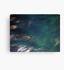 Sea at Blue Grotto Canvas Print