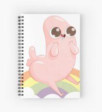 Adorable Dickbutt Spiral Notebook