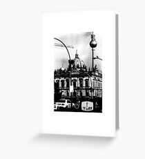 BERLIN TV TOWER Greeting Card
