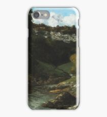 Gustave Courbet - Landscape With Rocks 1872 iPhone Case/Skin