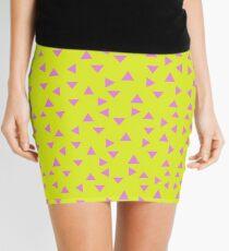 Neon 90s Inverted Mini Skirt
