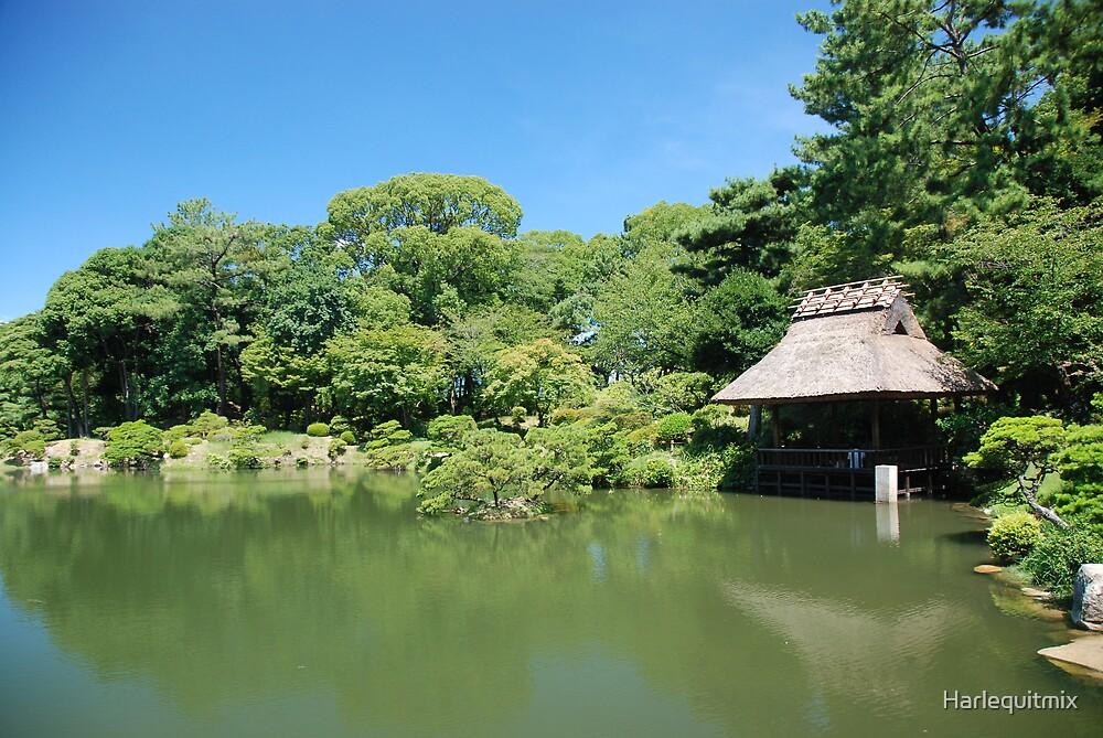 Japanese Gardens by Harlequitmix