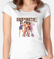 SPICE UP UR LIFE Women's Fitted Scoop T-Shirt
