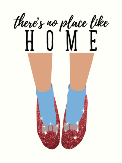Quot There S No Place Like Home Quot Art Print By Elysianart