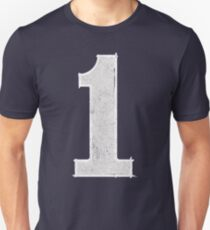 Number 1 - Simple Fun Unisex T-Shirt