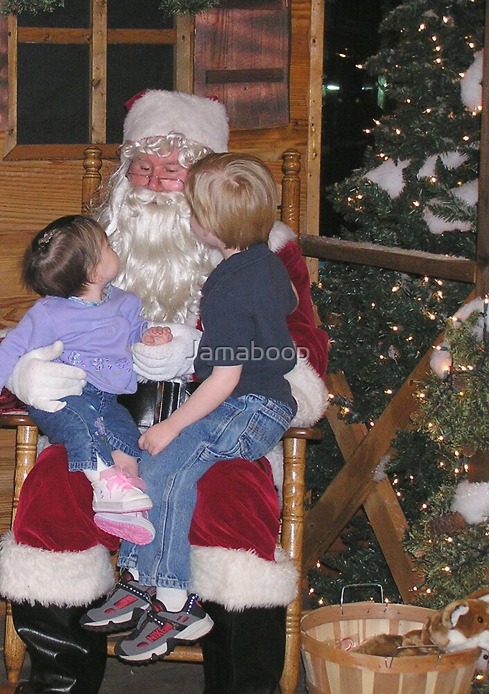 Santa? He does exist! by Jamaboop