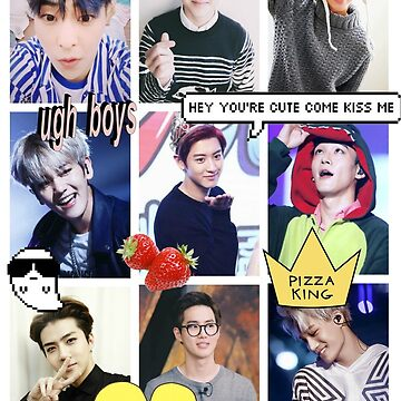 Exo Collage  by satansaysyo