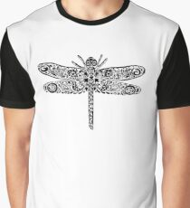 Dragonfly Doodle Graphic T-Shirt