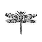 Dragonfly Doodle by Jacqueline Eden