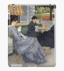 Gustave Caillebotte - Portraits In The Countryside iPad Case/Skin