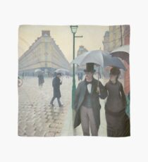 Gustave Caillebotte - Paris Street Rainy Day (1877) Scarf