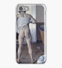 Gustave Caillebotte - Man At His Bath iPhone Case/Skin