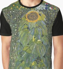 Gustav Klimt - The Sunflower 1907 Graphic T-Shirt