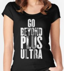 Go Beyond! Women's Fitted Scoop T-Shirt