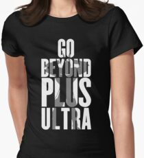 Go Beyond! Women's Fitted T-Shirt