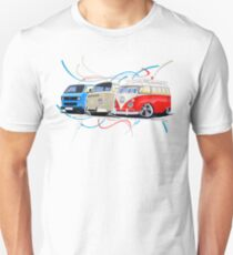 VW Bus Collection Unisex T-Shirt
