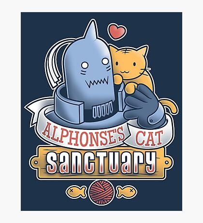 Alphonse's Cat Sanctuary Photographic Print