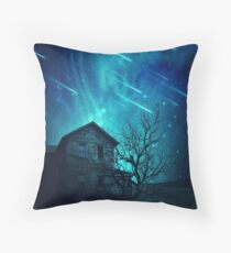 no one home Throw Pillow